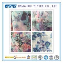 Tissu imprimé en organza 100% polyester fait à la main et tricoté, 30 po * 30 d