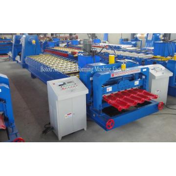 Color Steel Metal Roofing Sheet Roll Forming Machines