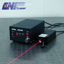 Laser rouge à simple longitude de 721nm