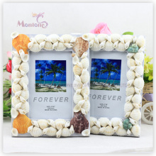 "Home Decoration Shell MDF Photo Frame (4""X6"")"