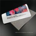 Bannière flexible de PVC de frontlit d'eco-solvant brillante avec la stratification à froid