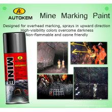 Peinture de marquage d'arpentage, Peinture de marquage inversée, Peinture de marquage d'aérosol, Sans flamme