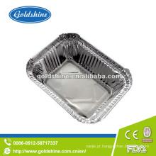 Recipientes descartáveis da folha de alumínio do preço competitivo