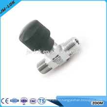 SS one piece high quality flange needle valve