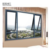 Usine de la Chine bon marché en aluminium Designs de fenêtre auvent