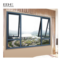 Фабрика китая дешевые алюминиевые конструкции ванной комнаты окна тента