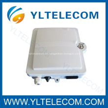 12 caja de centrales FTTH al aire libre terminales de fibra óptica con cerradura