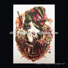 OEM Wholesale ink arm tattoo cool decorative tattoo witch body tattoo W-1050