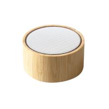Hot Sell Subwoofer Loudspeaker Portable Wood Bass Audio Box Small  Speaker Portable MiNiWooden Wireless Smart Speaker