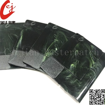 Dark Green Marble Masterbatch Butiran