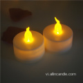 Pin Powered Nhấp nháy Flameless LED Tealight Candle