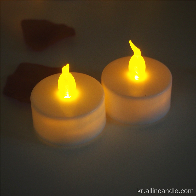중국어 Flameless LED Tealight 양초