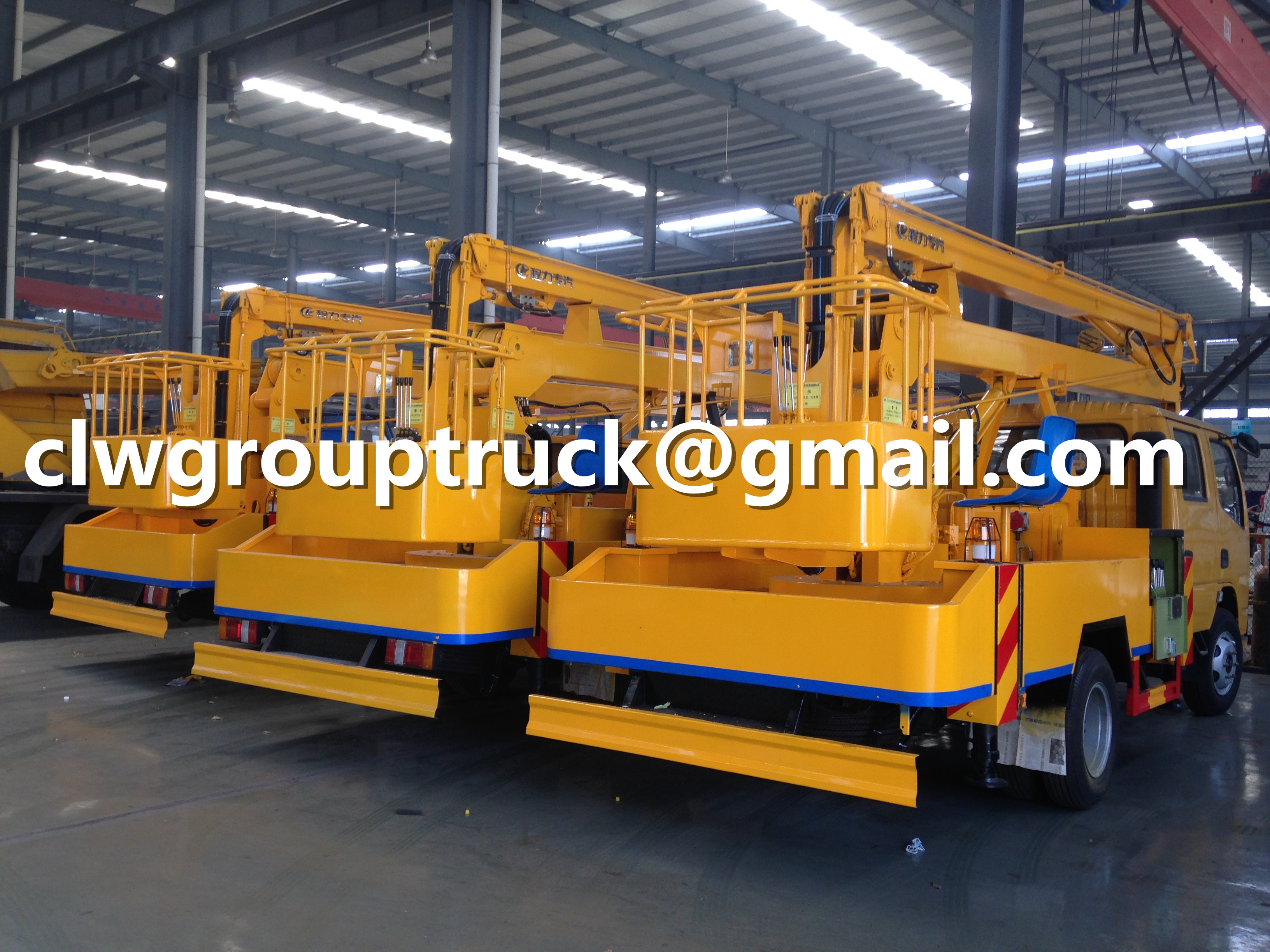High working truck supplier