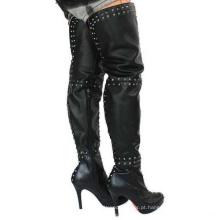 Novo estilo de botas de mulheres (Hcy02-322-1)
