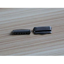 Livre amostra eco-friendly material de ferro cinto de metal fivela com dentes