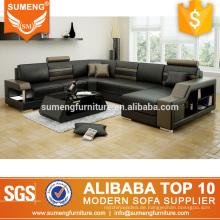 Alibaba italienische Ledercouch Sofa für schwere Menschen eingestellt