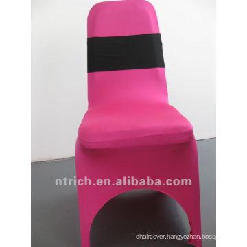 Decorative elastic chair sash for wedding