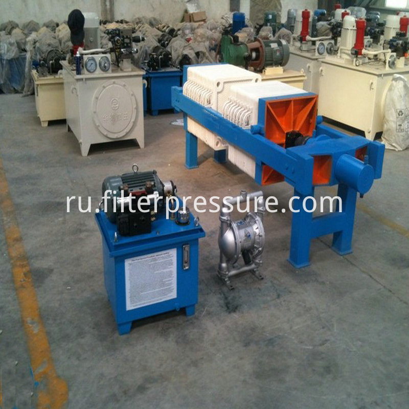 Paper Chamber Filter Press