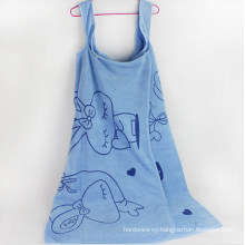 OEM Wearable Bath Towel Beach Towel with Suspenders for Promotion