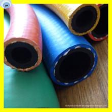 300 Psi Farbe Gummischlauch Luft Gummischlauch 1/2 Zoll