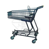 Japanese style basket trolley
