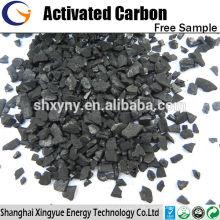 Quantidade de iodo 1000mg / g de carvão ativado em coco granulado para mineração de ouro fino