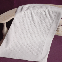 100%Cotton Jacquard Hotel Bath Mat