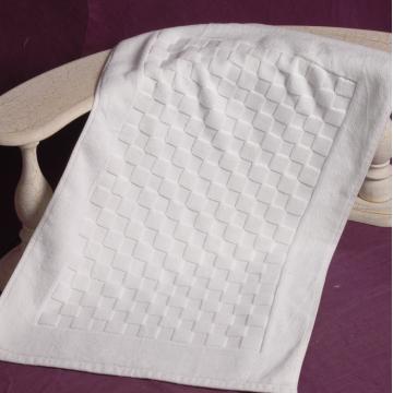 Alfombra de baño 100% algodón Jacquard Hotel
