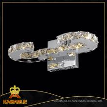 Decoración moderna Inicio Cristal LED Wall Light (MB77057-10)