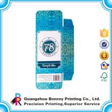 Matt-kleiner Kasten kundengebundener Papierkasten des Papier-300gsm, der mit hoher Qualität verpackt