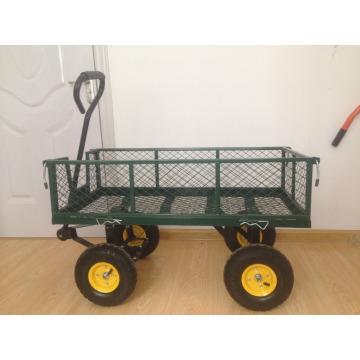 chariot de jardin métal
