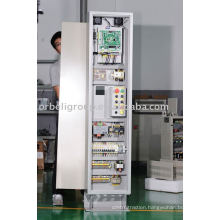 Machine room elevator control cabinets, lift controller system