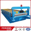 Corrugated step roofing sheet roller making machine