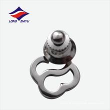 Emblema de lapela inoxidável de design irregular fabricado na China