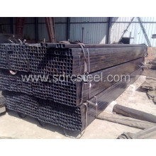 Welded Connection Q235 Black Square Steel Pipe
