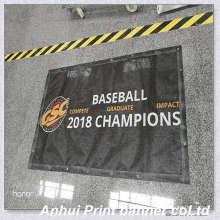 Banner impreso de material de malla 270g