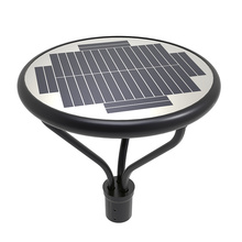Alles in einem 20W Solar Mast Top Light