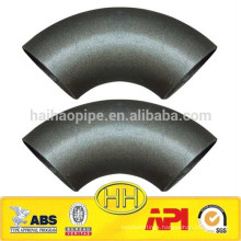 ASME B16.9 90 degree LR carbon steel elbow made in China