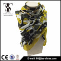 2015 new spring printed viscose multi colored neck shade shawls