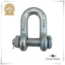 electric galvanized US type D shackle G210 G2150