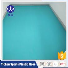 Suelo del azulejo de vinilo de Commerical del rodillo del PVC buen suelo de la reacción