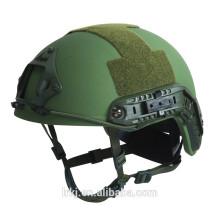 NIJ IIIA casco balístico RÁPIDO kevlar táctico casco a prueba de balas para el ejército militar