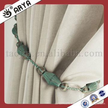 Vente en gros de cordes décoratives de mode pour stores à rideaux, décoration et corde à rideaux Fixer et embellir