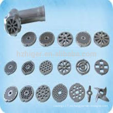 piezas de la máquina amoladora / dibujo de la parte de la máquina del torno / fundición de aluminio piezas de la máquina CNC