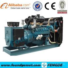 Generador diesel de 360kw Doosan, generador diesel de 450kva Doosan