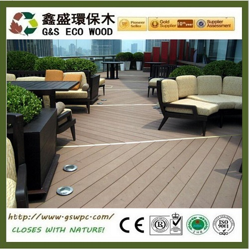Outside Balcony Waterproof Wpc Flooring