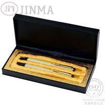 La plus populaire boîte de cadeau avec stylo Super cuivre Jms3053