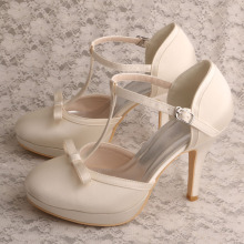 Bow Platform Off White Chaussures pour femmes Mariage