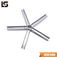 Haute qualité réglable en aluminium moulage sous pression Chaise de bureau de base Pièces Pièces Jambes de meubles