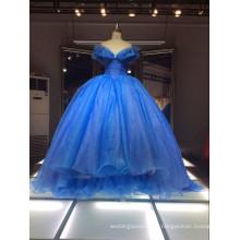1A50 Robes Bleues de haute qualité Sexu Back Blur prince Robe de soirée
